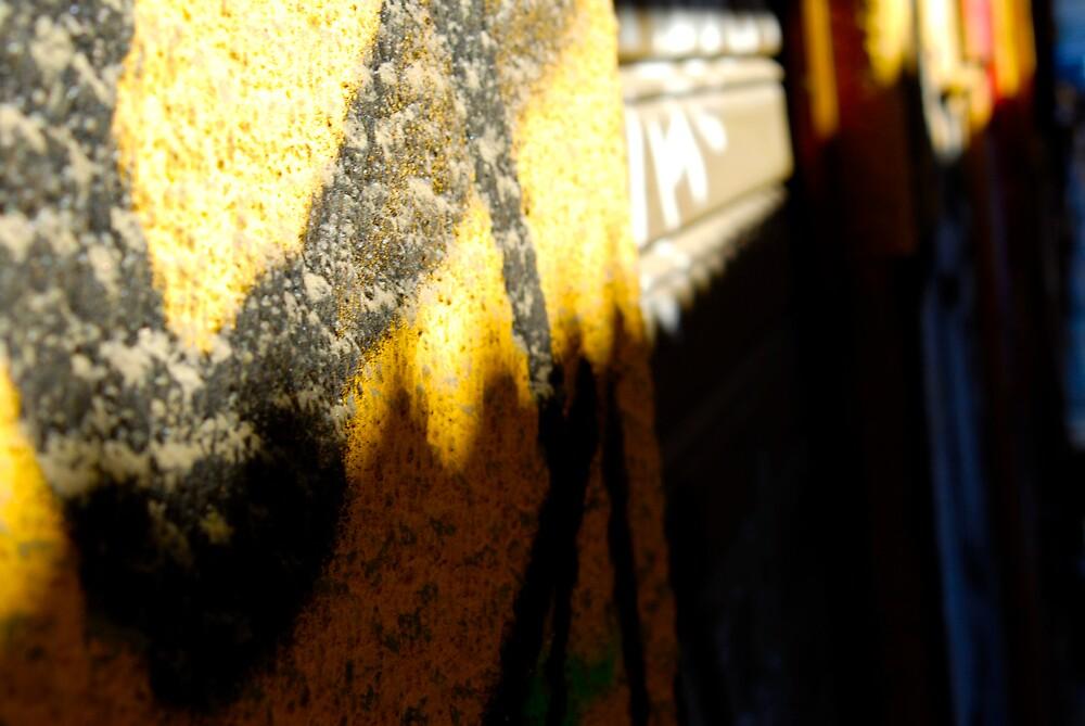 Graffiti Up Close by Galen  Stone