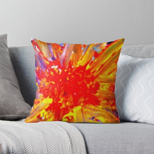 Radiant Joy Throw Pillow