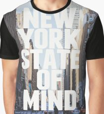 Camiseta gráfica New York State of Mind NYC America