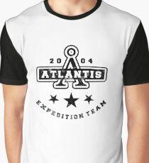 Stargate Atlantis: Varsity Graphic T-Shirt