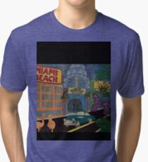 MIAMI NAIVE Tri-blend T-Shirt