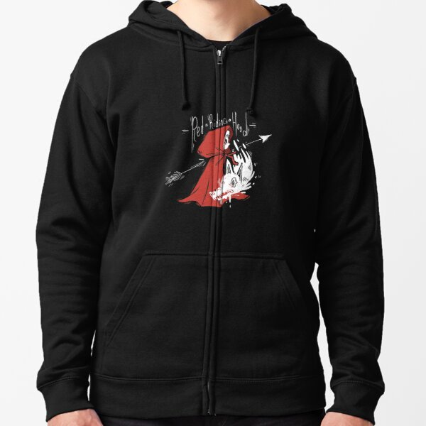 Red Riding Hood Zipped Hoodie
