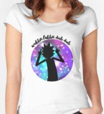 Wubba Lubba Dub Dub! Fitted Scoop T-Shirt