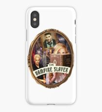 Buffy against the vampires iPhone Case