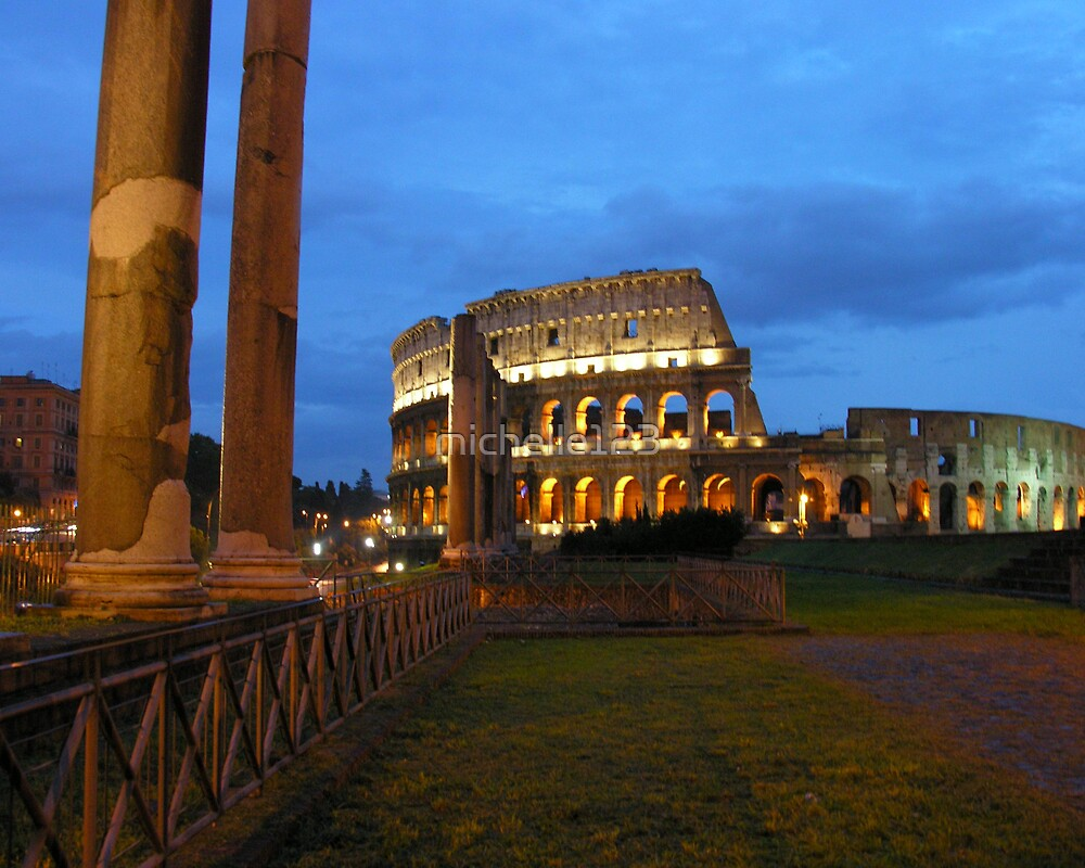 Coliseum from the Forum by michelle123