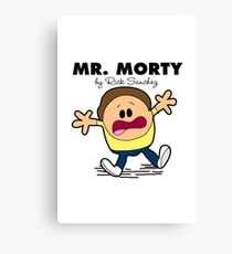 Mr Morty Canvas Print