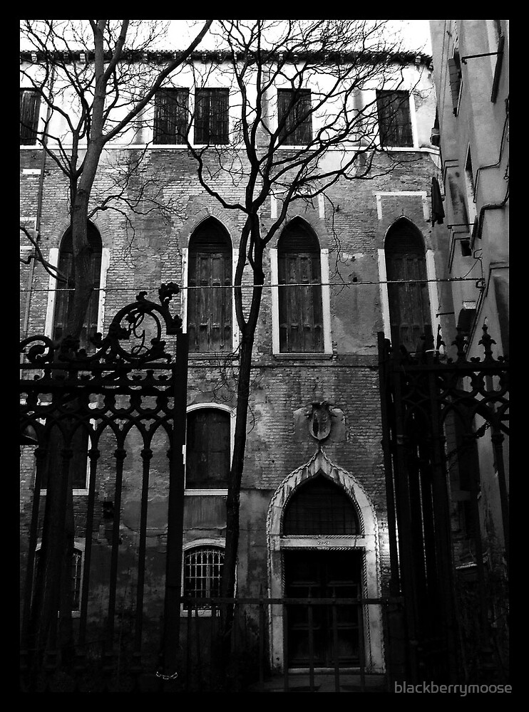 Grim Venetian by blackberrymoose