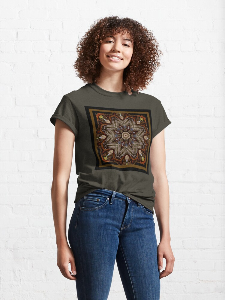 Alternate view of The Room of Five Hundred Stairs Shawl Classic T-Shirt