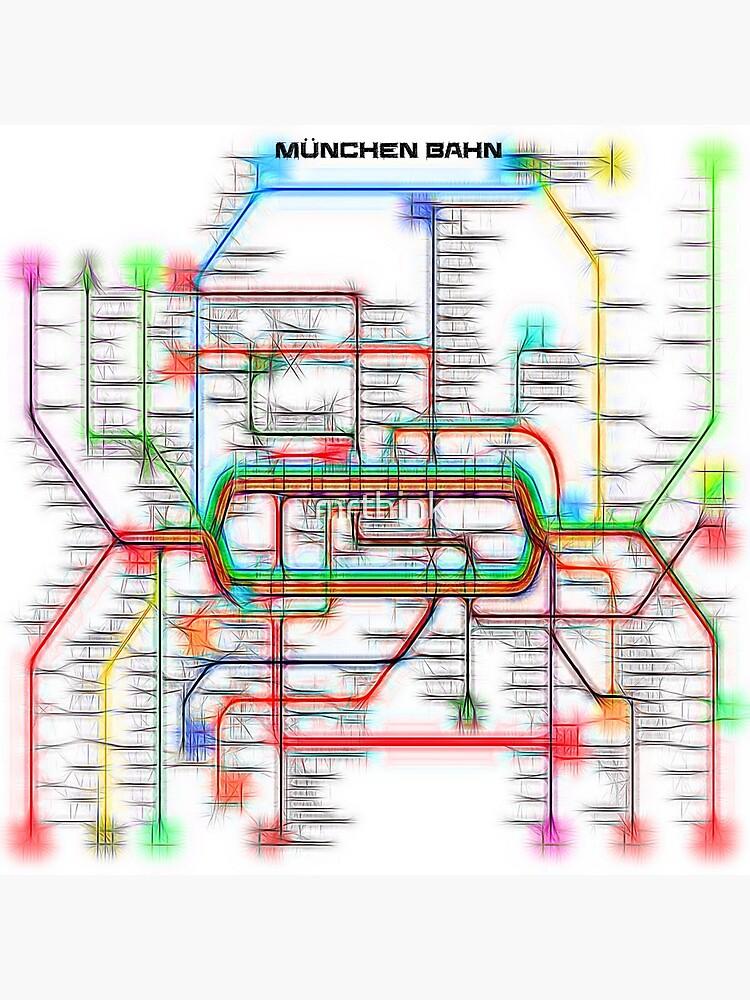 München U-Bahn S-Bahn by mrthink