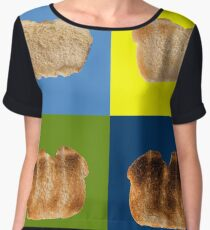 Take My Bread - Pop Art Women's Chiffon Top