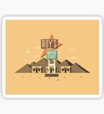 Roy's Motel & Cafe Sticker