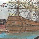 OLD SHIP by NEIL STUART COFFEY
