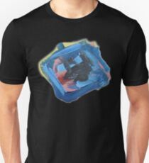 Blue Diamond Abstract Painting Unisex T-Shirt