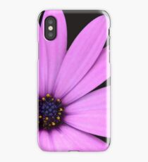 Pink Flower Close Up iPhone Case/Skin