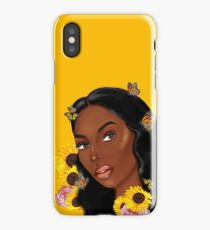 meet 2b436 ed24e Carefree Black Girl iPhone X Cases & Covers | Redbubble