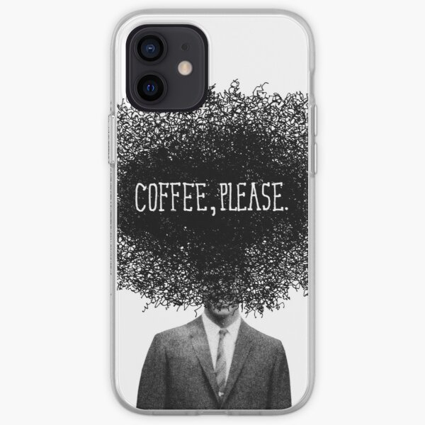 Coffee, Please iPhone Soft Case