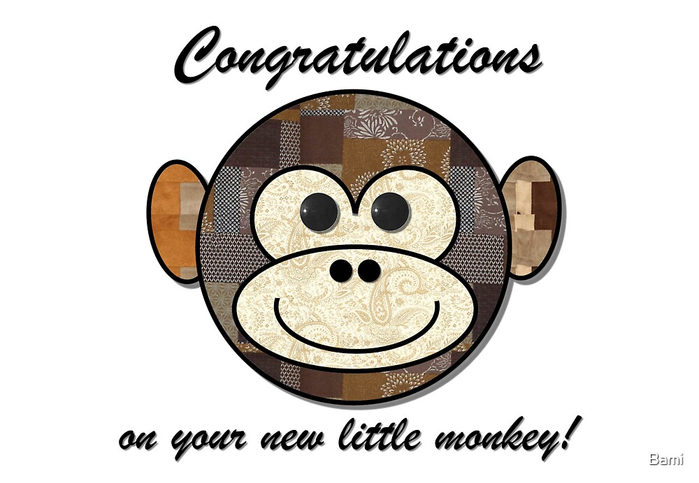 New Monkey by Bami
