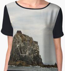 Fastnet Lighthouse Chiffon Top