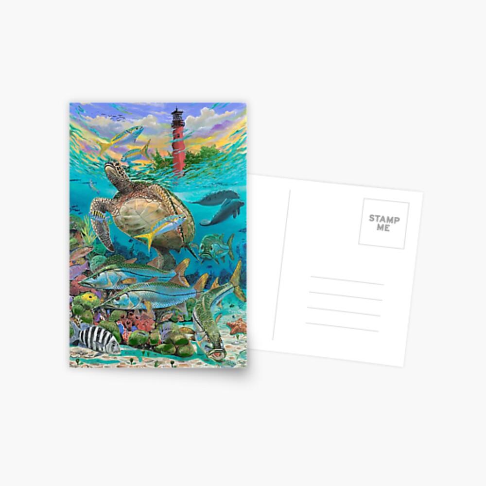 Jupiter Haven Postkarte