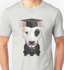 English Bull Terrier Graduate  Unisex T-Shirt