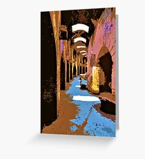 Flavian Amphitheater Greeting Card