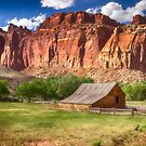 The Barn at Capitol Reef by Kathy Weaver