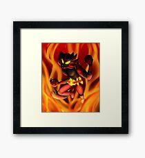 Incineroar Framed Print