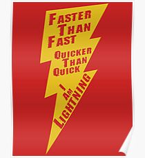 I Am Lightning  Poster