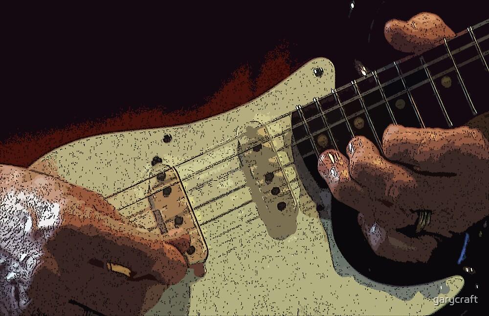Steve Miller's guitar & hands by garycraft