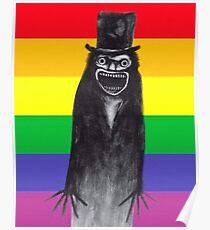 Gay Pride Babadook Poster
