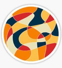 Mmmm Arty | Colour Palette Circle Sticker
