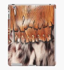 #114, Western Southwest, Faux Fur Leather Brown iPad Case/Skin