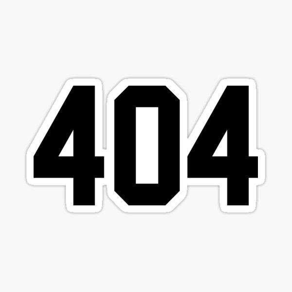 404 Sticker