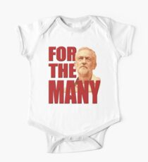 CORBYN For The Many One Piece - Short Sleeve