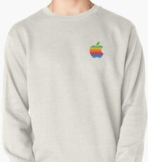 Rainbow Apple Logo Pullover
