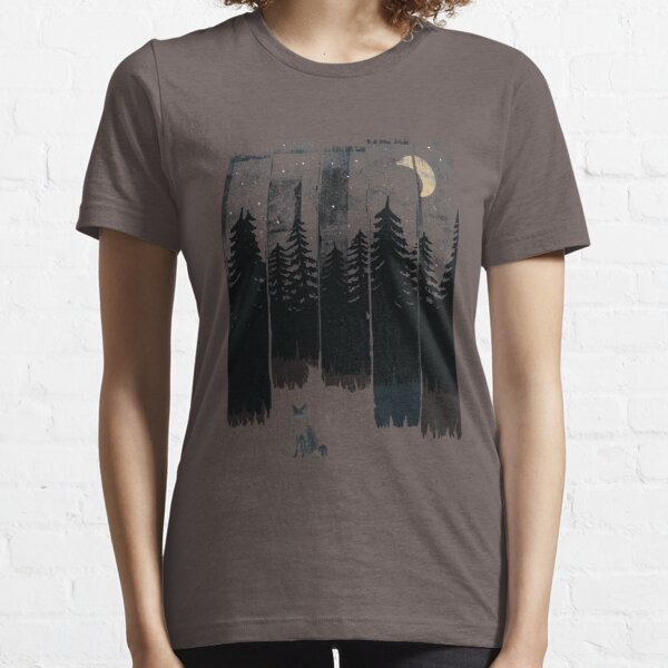 A Fox in the Wild Night Essential T-Shirt