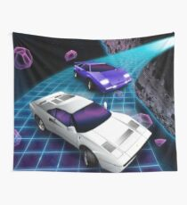 Lunar Highway Race Wall Tapestry