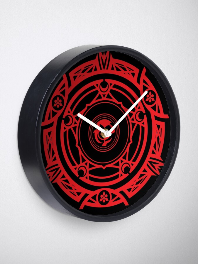 Alternate view of Gremory House Symbol Clock