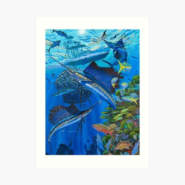 Sailfish Reef Art Print
