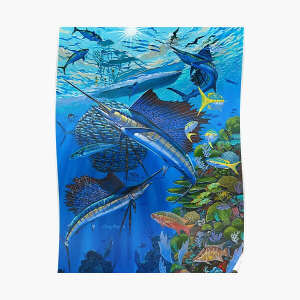 Sailfish Reef Poster