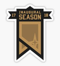 Golden Knights Inaugural Season Patch Sticker