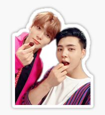 """Tastes Like A Cherry Bomb"", Jaehyun & Johnny Sticker Sticker"