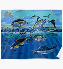 Yellowfin Run Poster