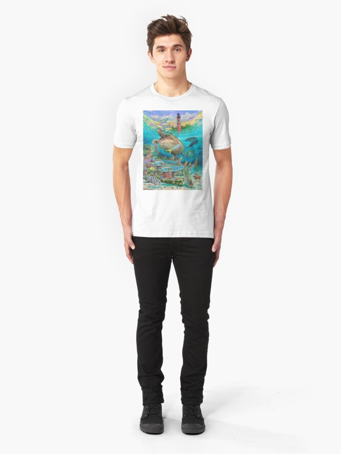 Alternative Ansicht von Jupiter Haven Slim Fit T-Shirt