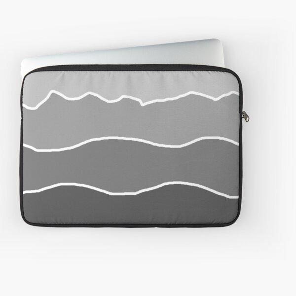 Landscape Staggered Grey Laptop Sleeve