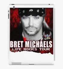 Collectible : Bret Michael live rock iPad Case/Skin