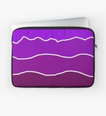 Landscape Staggered Purple Laptop Sleeve