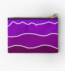 Landscape Staggered Purple Studio Pouch
