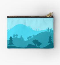 Landscape Blended Blue Studio Pouch