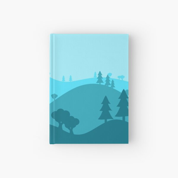 Landscape Blended Blue Hardcover Journal